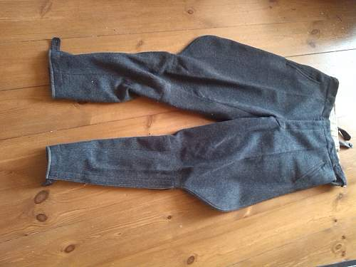 luftwaffe trousers - ask for help