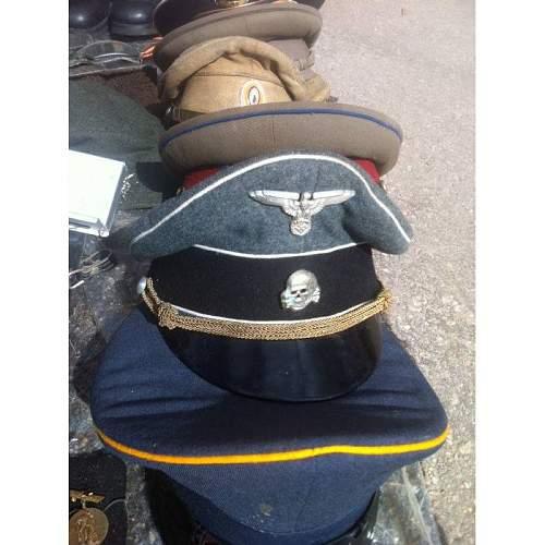 Uniform and SS Cap