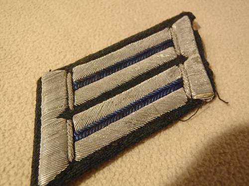 German collar tab....real or fake? :)