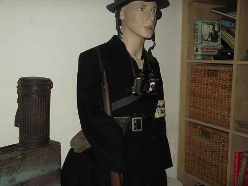 Volkssturm mannequin  try out