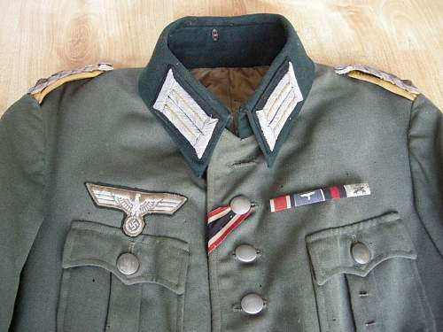 Help with info on this Cavalry Tunic