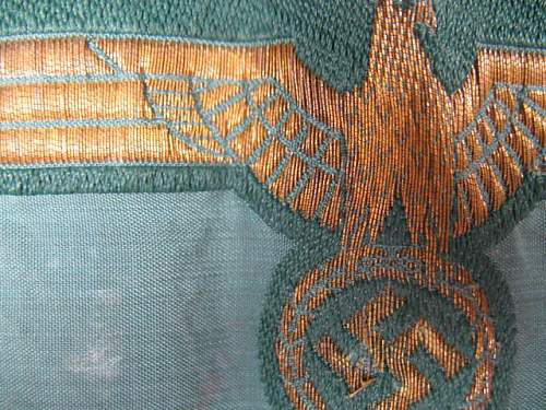 Breast Eagle with Gold Thread - Help Please
