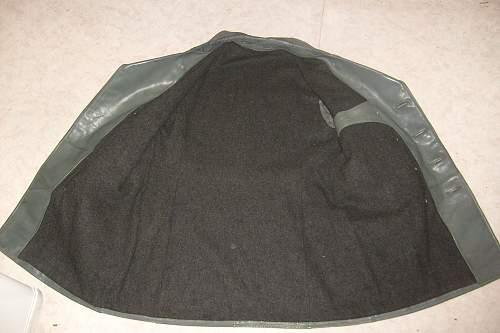 Kriegsmarine leather-jacket. Questions!
