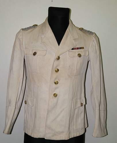 Kriegsmarine white summmer tunic for review