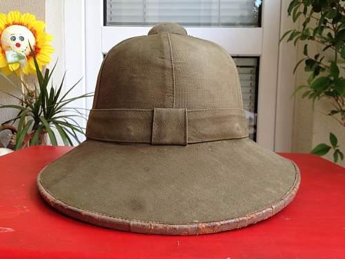 1-st pattern Pith Helmet opinion