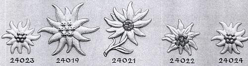 Edelweiss pin, authentic or not?