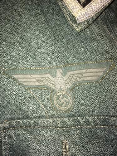 WW2 M43 Heer HBT Tunic