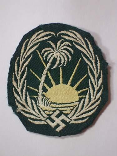 DAK Sonderverband patch