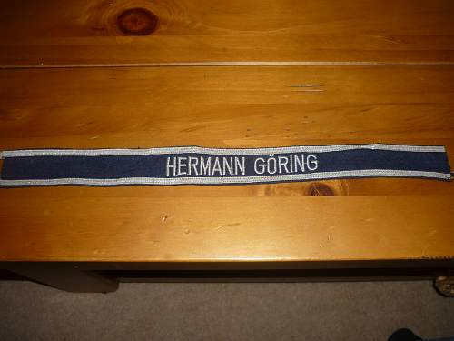 hermann goring cuff title?