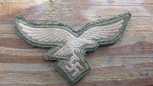 Luftwaffe Camo Breast Eagle