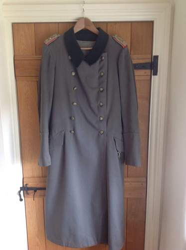 Artillery Officers Greatcoat
