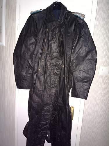 German officer's rubber coat?