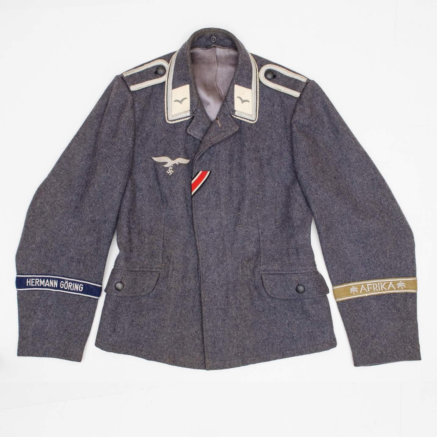 Luftwaffe Fliegerbluse for Hermann Göring Division ...