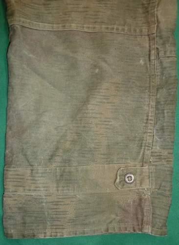 Wehrmacht Uniform Splinter Camo Reversible Sniper Smock  originial ?