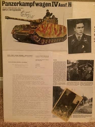 Signed nazi photograph