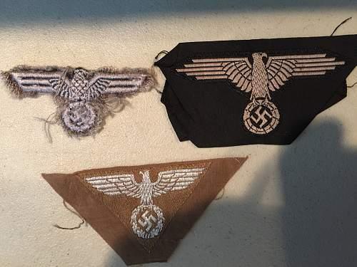 Multi piece insignia collection
