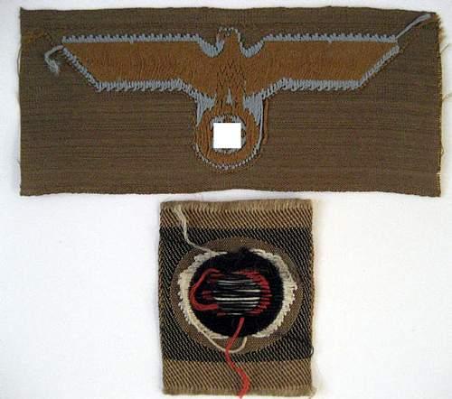 DAK Cap Insignias