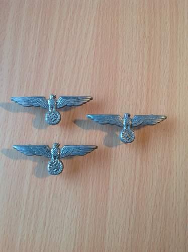Heer Cap badges