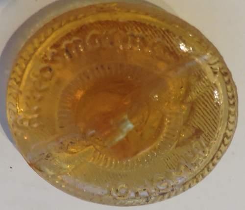 Glass Kriegsmarine buttons