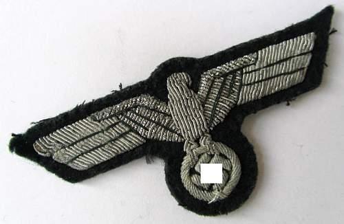 Eagle Bullion Badge Heers Officer. Opinions please?