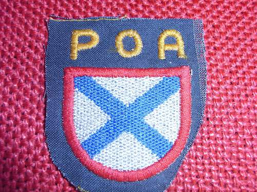 POA shield real or fake ?? please ...thanks :-)