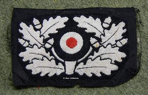 Heer Panzer Beret Wreath