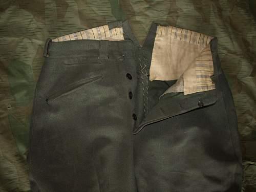 officer's breeches