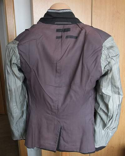 Luftwaffe service tunic waffenrock - ask for help