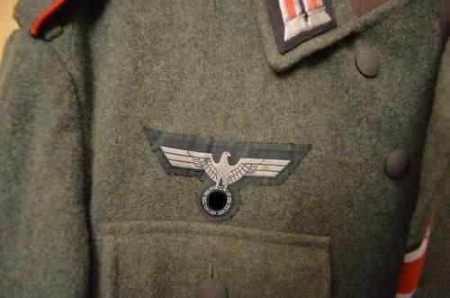 WH Artillery Uniform