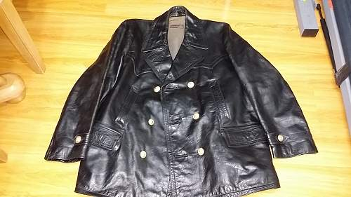 Mint Kriegsmarine leather jacket 1938 ?