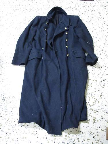Navy Blue Kriegsmarine overcoat?