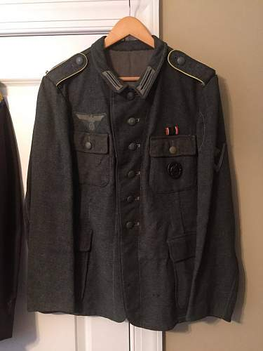 Thoughts on this M43 tunic?