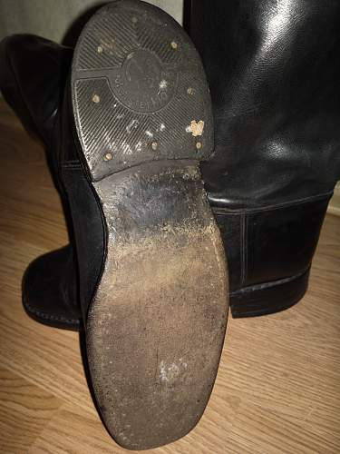 Maybe german officer's boots?