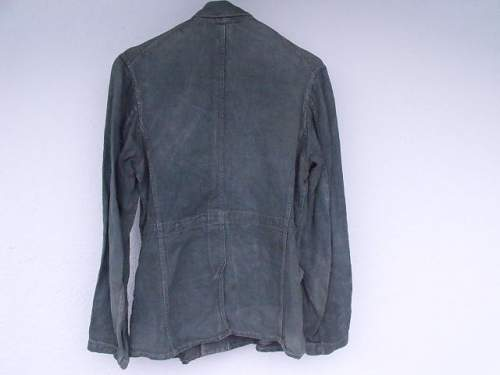 What Drillich uniform is this?