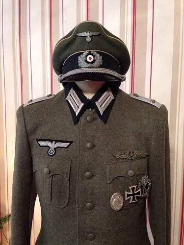 Infanterie Feldbluse Regiment 95