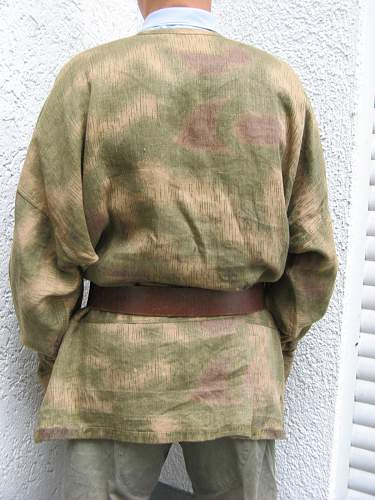 Heer and Luftwaffe smock. Fake or real deal??