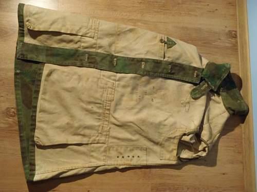 German Luftwaffe camo jacket 2ww