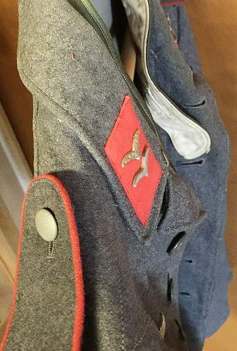 Looking for opinions on this Luftwaffe tunic...