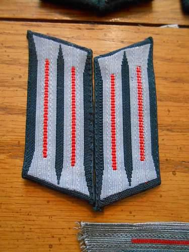 Shoulder Straps Artillerie Regiments