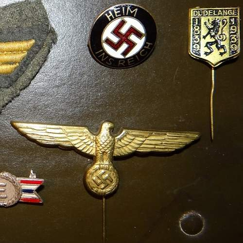 German patches and insignia - please help with info