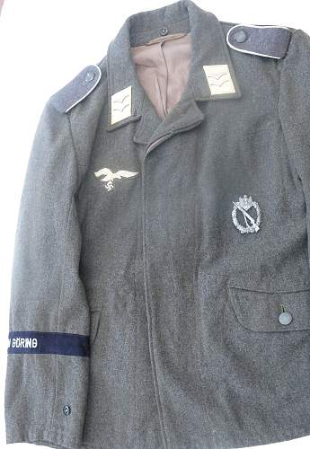 HG Division Fliegerbluse for a Gefreiter