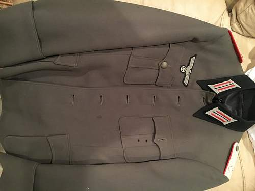 Heer Officers tunic: real or fake