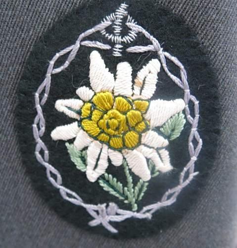 Click image for larger version.  Name:Gebirgsjäger cap and jacket 031.jpg Views:50 Size:92.6 KB ID:932373