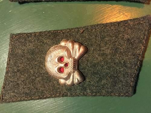 panzer assault gunner collar tab?