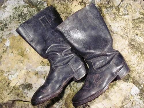 German Soldier - Jackboots with Hobnails