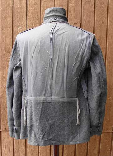 Luftwaffe Flak Tunic....Any methods to see faded names on fabric?