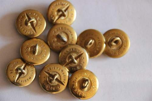 Kriegsmarine buttons