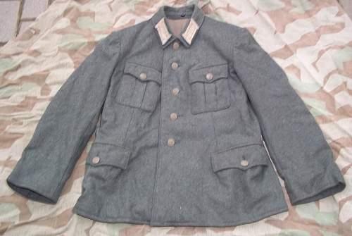 Original coastal artillery uniform?