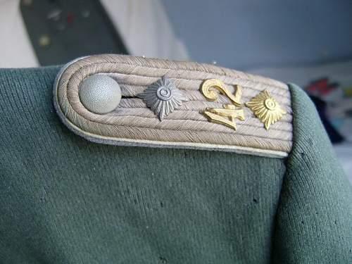 Strange Heer officers tunic