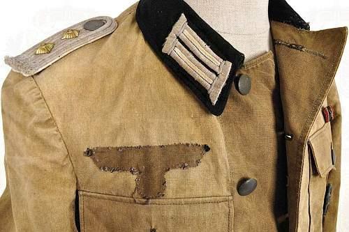 Southern Front Summer Heer Uniform Lieutenant